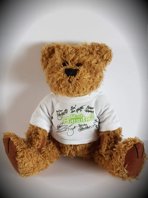 MERCH Official Most Haunted Teddy Bear