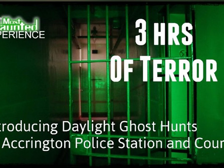 New Daylight Ghost Hunts For 16yrs Plus