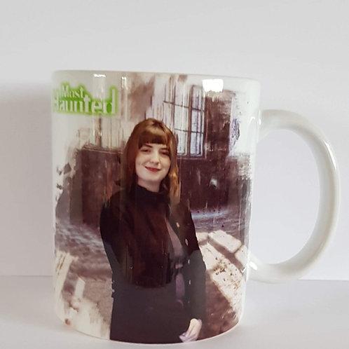 MERCH Mary Beattie Mug Design And Autograph