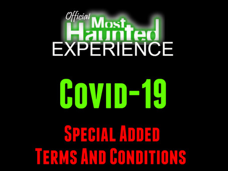 Special Extra Terms And Conditions Due To Covid-19 To Help You