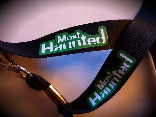 Merch Most Haunted Lanyard