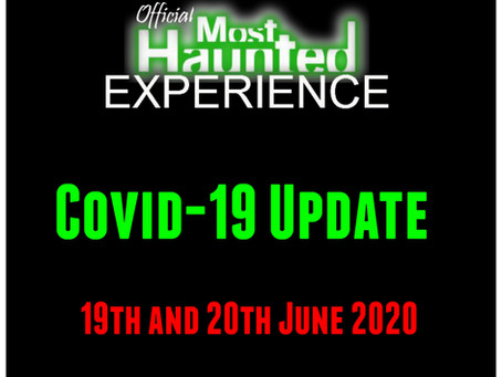 19th and 20th June 2020