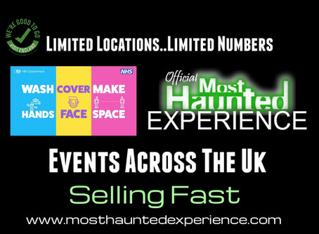 Events Are Selling Fast