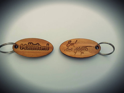 Official Most Haunted Wood Keyring MERCH