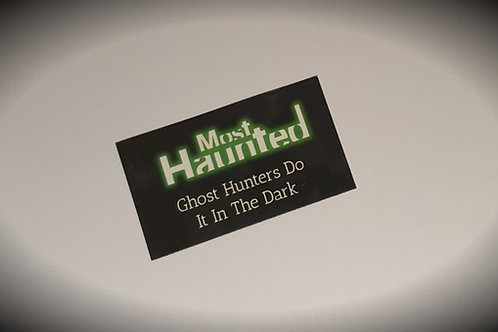 Official Most Haunted Magnet MERCH
