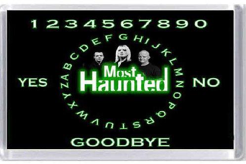 Off Most Haunted Fridge Magnets Option 2 Ouija MERCH