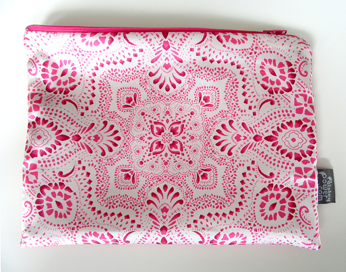 Mosaic-Bandana-designer-pouch-bag-by-Paisley-Power-brand