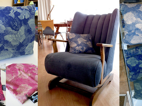 Paisley Power cushions now available