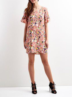 floral-dress-with-printed-textiles-by-designer-Patrick-Moriarty