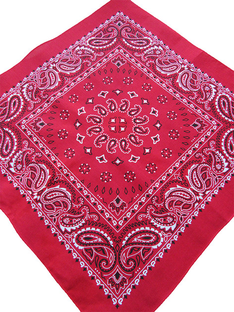 red bandana is a top seller in US