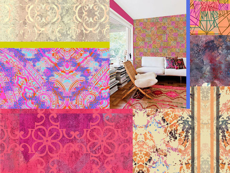 """Paisley Power design """"Relics To Riches"""" styled by Liz Nehdi"""