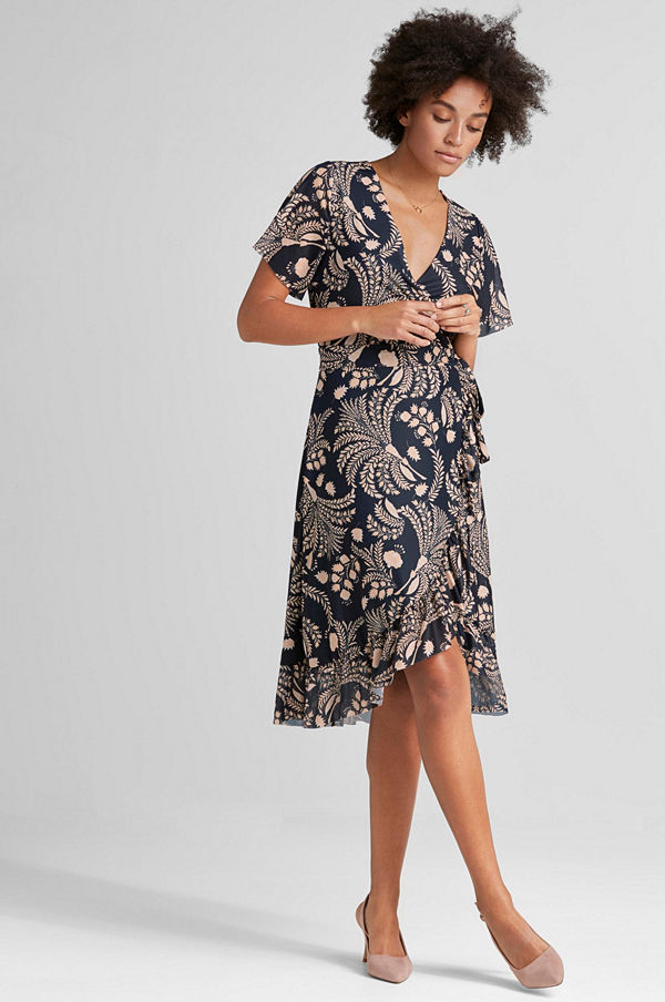 soaked-in-luxury-dress-with-print-design