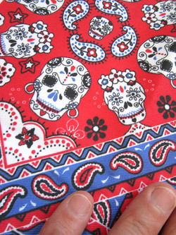 Mexcian-skull-bandana-textile-design-by-