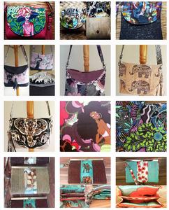 wonderful bags created by Lisa DuFour Wilkinson
