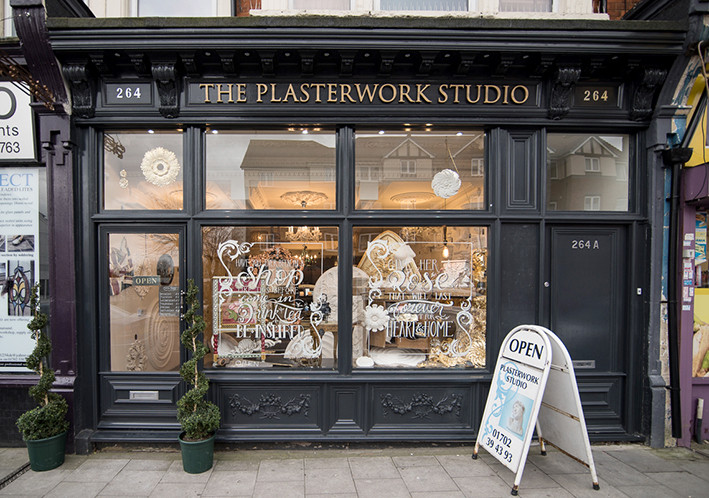 the Plasterwork Studio, Westcliff-on-Sea