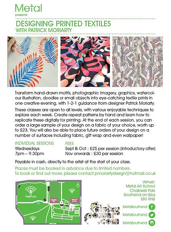 Designing-Printed-Textiles-Classes-Taugh