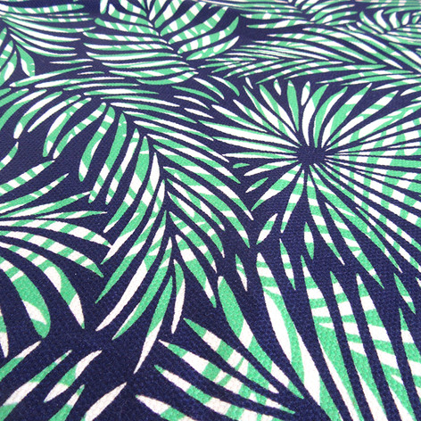Tropical theme fabric perfect for beachwear