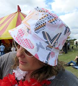 model-wearing-Paisley-Power-hat