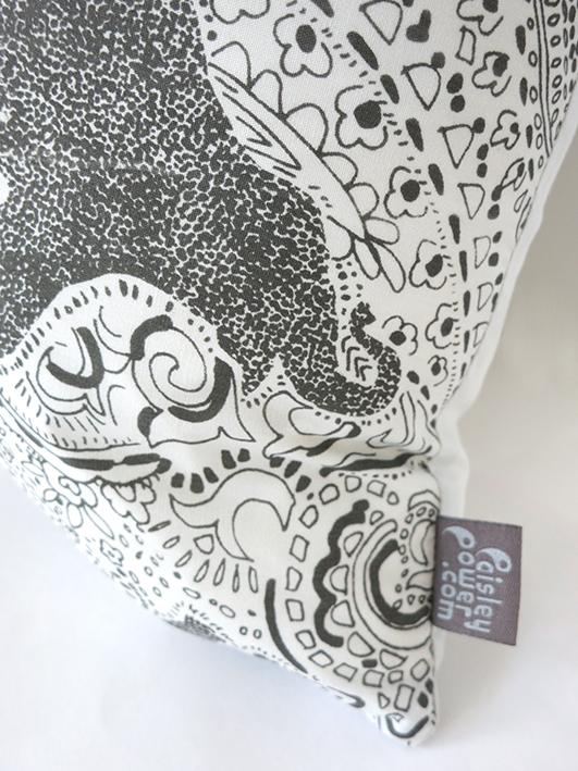 paisley power elephant cushion with hem tag.jpg