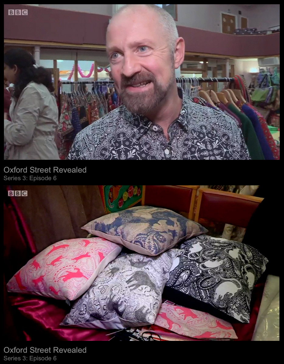 Patrick Moriarty & his designs on BBC1 TV