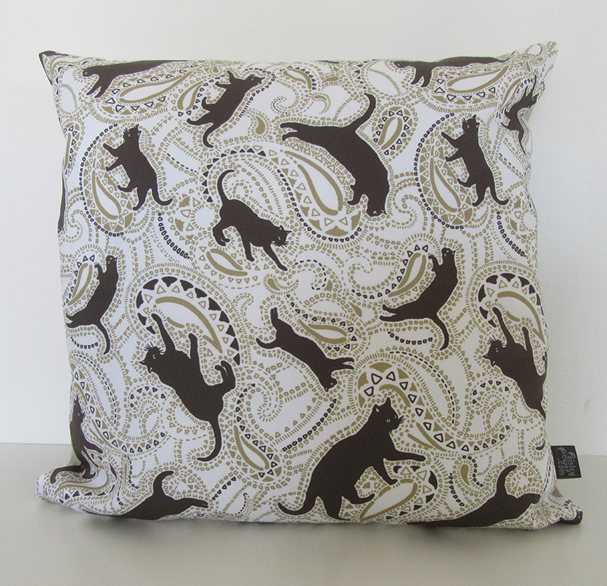 paisley-cat-print-cushion