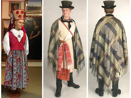 Historic Estonian Paisleys