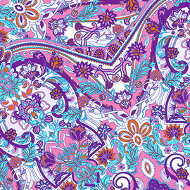 Paisley-Power-kaleidscope-flowers-leaves