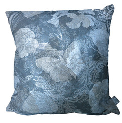 butterfly cushion with silver ink by Paisley Power.jpg
