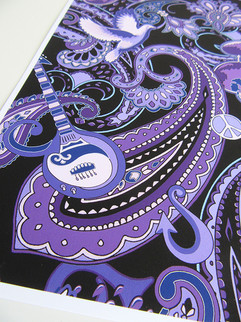 Paisley-pattern-with-Prince-guitar-and-p