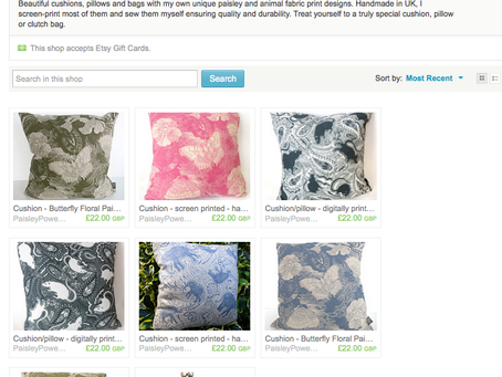 PaisleyPowerShop on Etsy is now open for business
