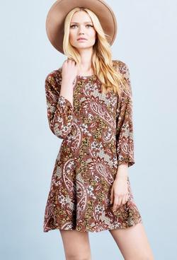 Vero Moda dress with paisley print