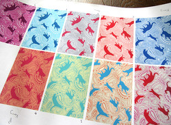 colour combinations on paper