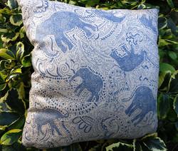 elephant cushion by Paisley Power