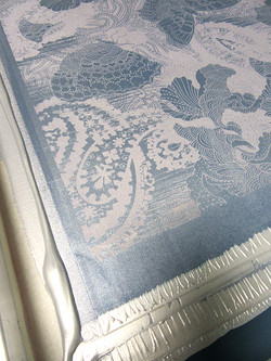 Silk Screen with Silver Ink