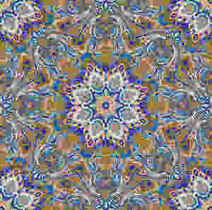 Paisley Kaleidoscope design by Patrick Moriarty