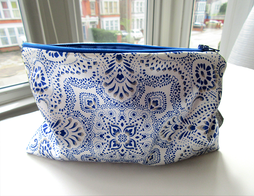 Mosaic-Bandana-textile-design-zip-bag-by-Paisley-Power