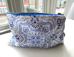 Mosaic-Bandana-textile-design-zip-bag-by-Paisley-Power