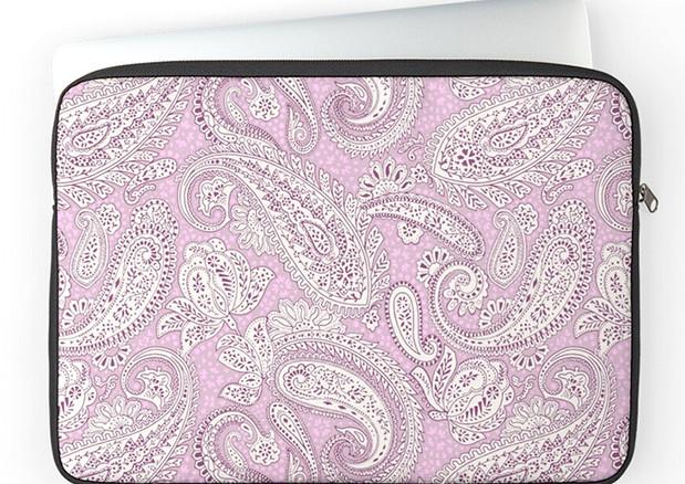 Paisley-Positivity-zipped-laptop-sleeve.