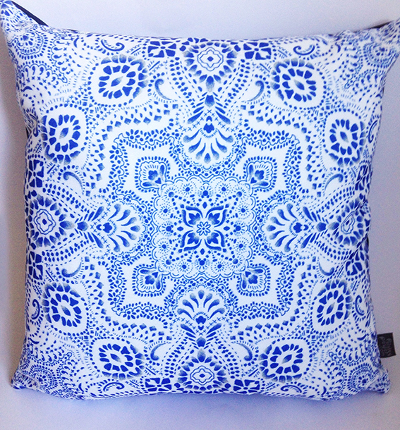 mosaic-bandana-cushion-by-Paisley-Power