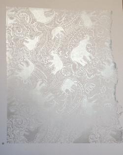 elephant paisley pattern by patrick moriarty