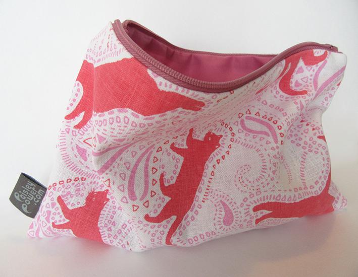 Paisley-Power-cat-zip-bag-paisley-pattern-red-pink-white