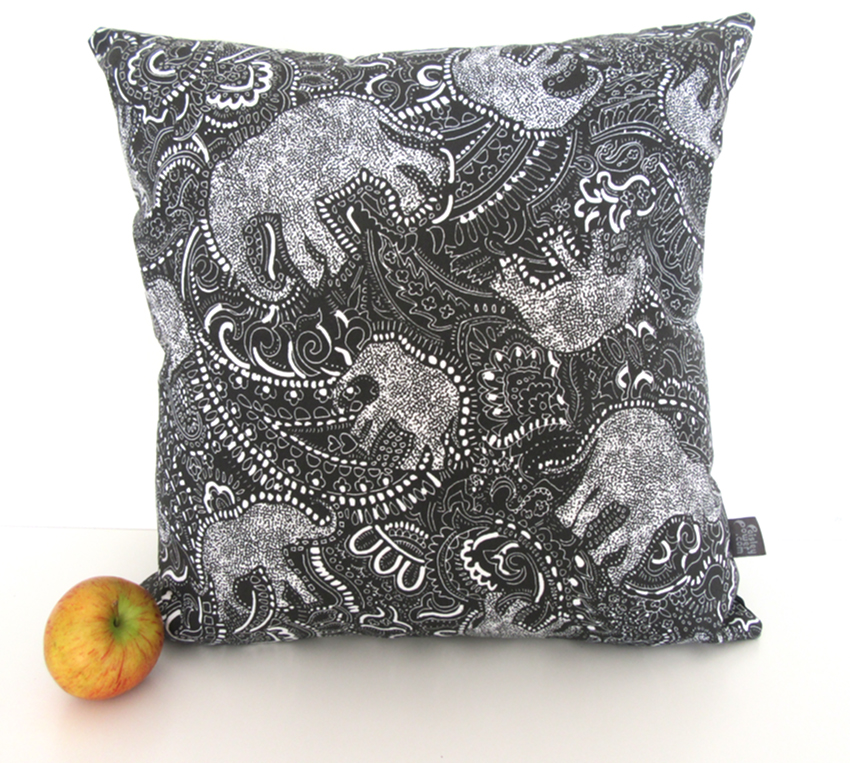 Paisley-Power-elephant-pattern-cushion-pillow