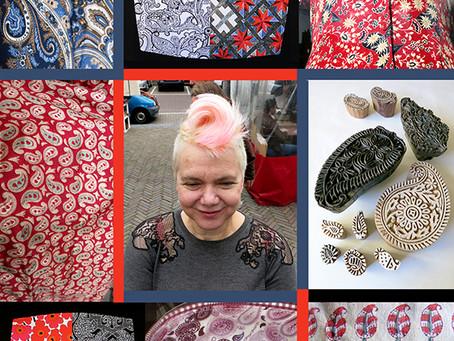 Paisley Patterns, Haircuts and Woodblocks in Amsterdam