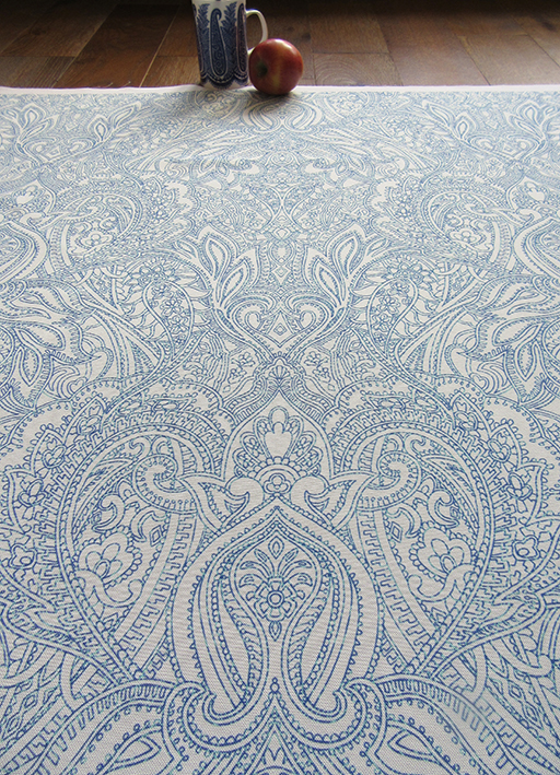 william-morris-style-original-printed-fabric-by-Patrick-Moriarty