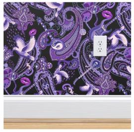 Paisley-Prince-Songbook-wallpaper-design