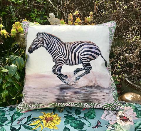 zebra-cushion-pillow-palm-leaf-border