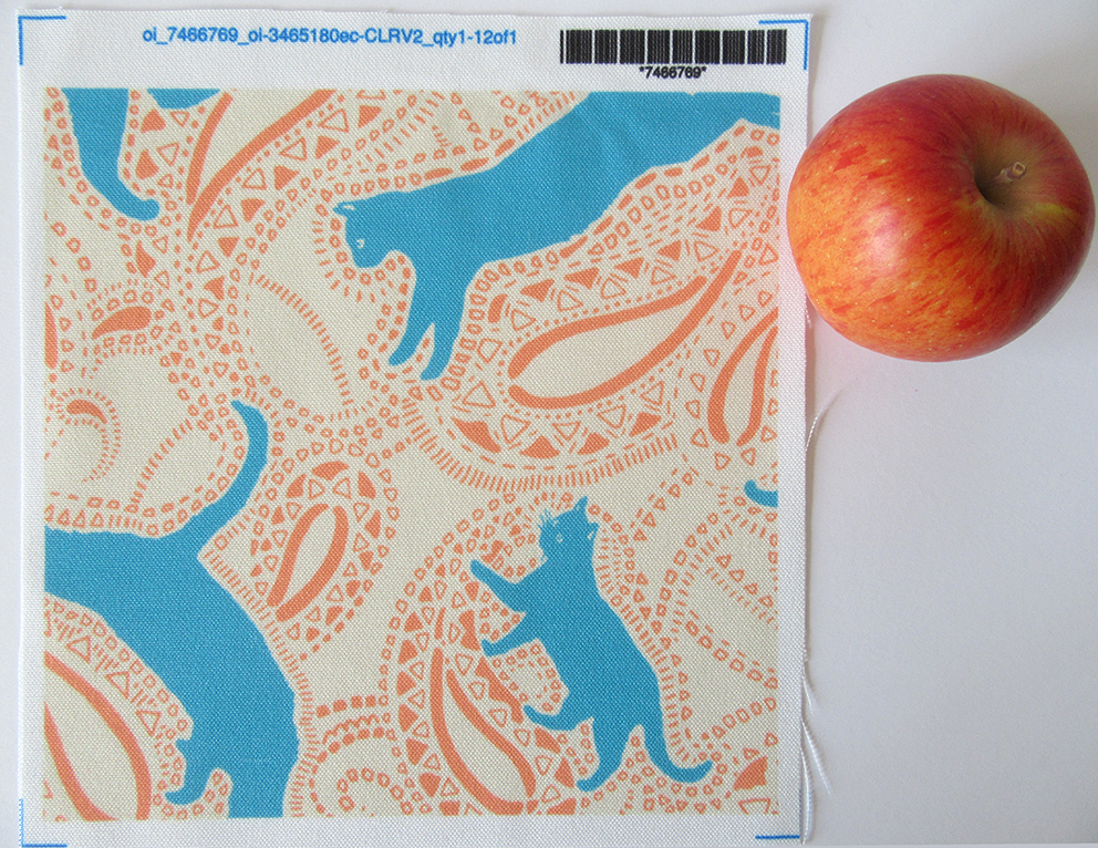 cat-paisley-turquoise-caramel-cream-fabric-textile-design