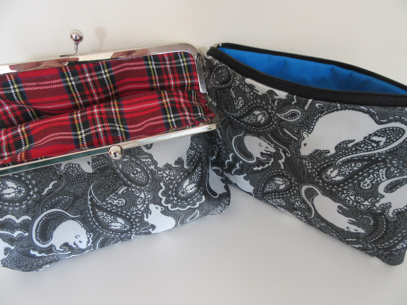 Rat-patterned bags