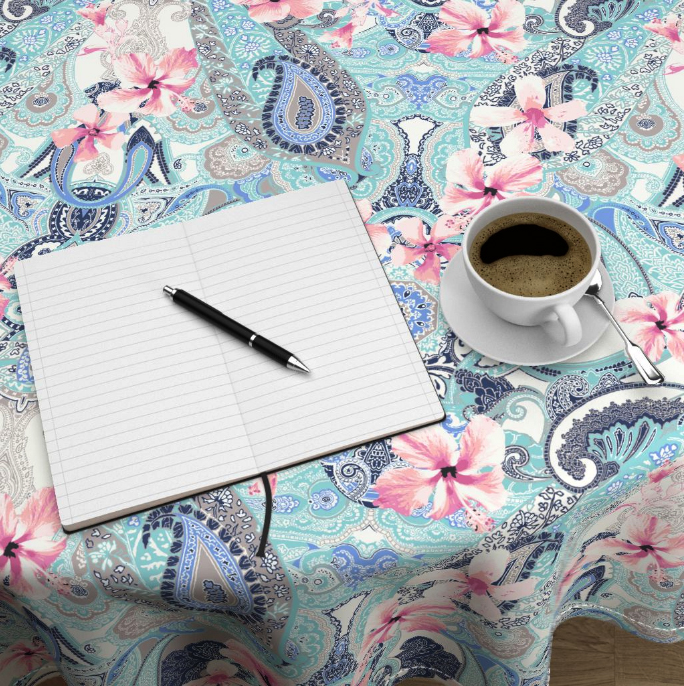 Hibiscus-Paisley-tablescape-designed-by-Patrick-Moriarty