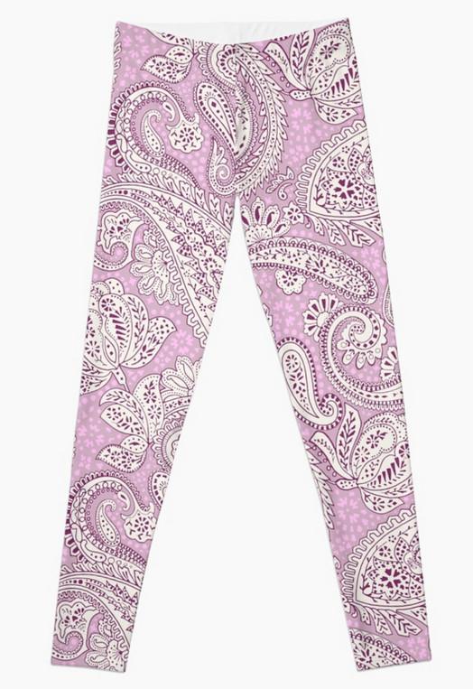Paisley-Positivity-fashion-leggings-lila